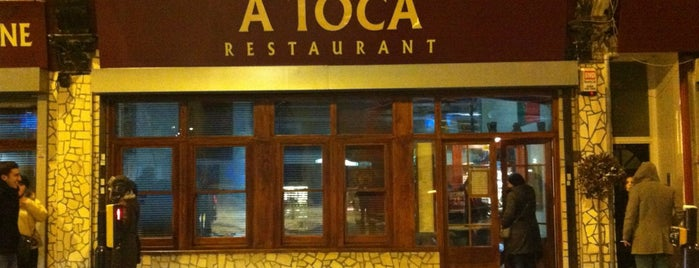 A Toca is one of Around the World in London Food.