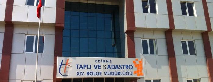 Edirne Tapu Ve Kadastro Müdürlüğü is one of Nihatさんのお気に入りスポット.