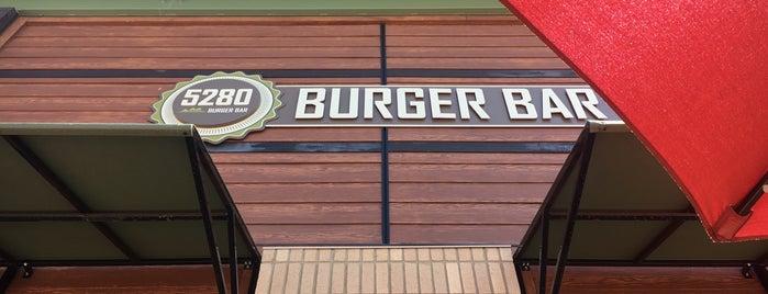 5280 Burger Bar is one of Tempat yang Disukai kraig.