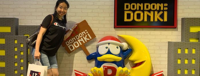 DON DON: DONKI is one of Hong Kong.