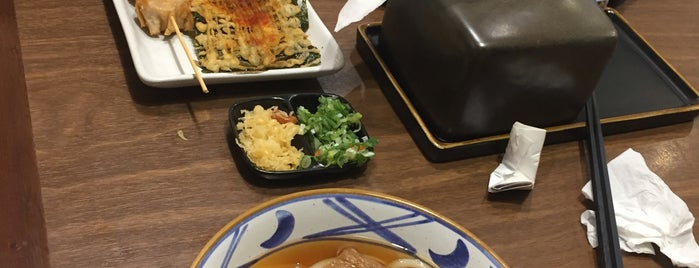 Marugame Udon Mal Kelapa Gading is one of Lugares favoritos de Nin.