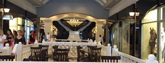 Sueno Hotels Deluxe Belek is one of Locais salvos de Yildiz.
