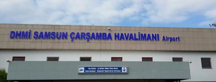 Samsun Çarşamba Havalimanı (SZF) is one of Havalimanları.
