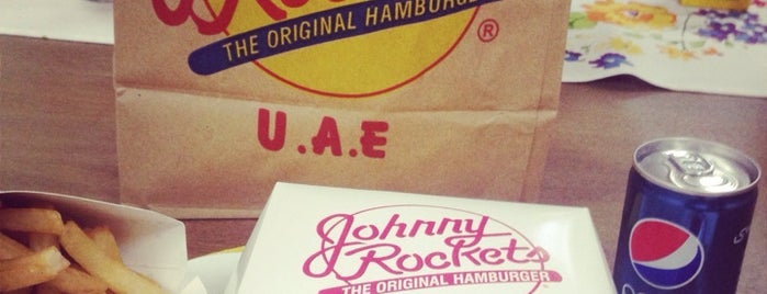 Johnny Rockets جوني روكتس is one of Dubai Food.