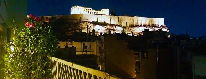 Acropolis Secret Divani Palace Roof Garden is one of Athens view Terrace.