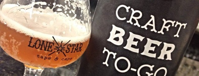 Lone Star Taps & Caps is one of DFW Craft Beer.