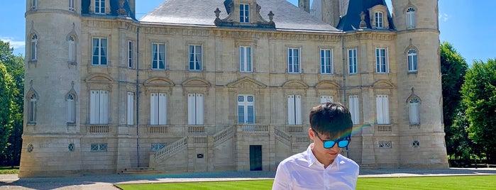 Chateau Pichon Longueville is one of Tempat yang Disimpan Regis.