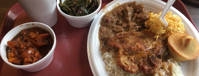 Mrs. B.'s Home Cooking is one of Atlanta/Alabama.