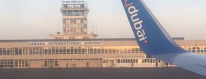Asmara International Airport (ASM) is one of Airports (around the world).