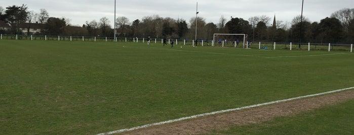 Hanworth Villa FC is one of สถานที่ที่ Carl ถูกใจ.