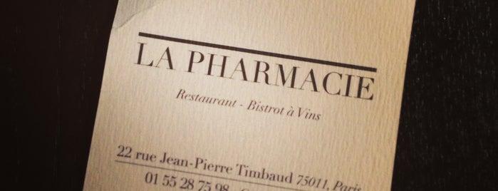 La Pharmacie is one of PARIS - Food.