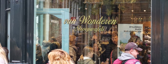 van Wonderen Stroopwafels is one of Amsterdam.