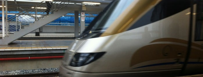 Gautrain Marlboro Station is one of Posti che sono piaciuti a Helen.