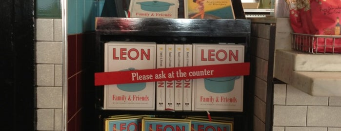 Leon is one of London, baby!.