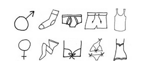 Underwear is one of Bruxelles.