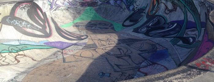 Garvanza Skate Park is one of LA spaces.