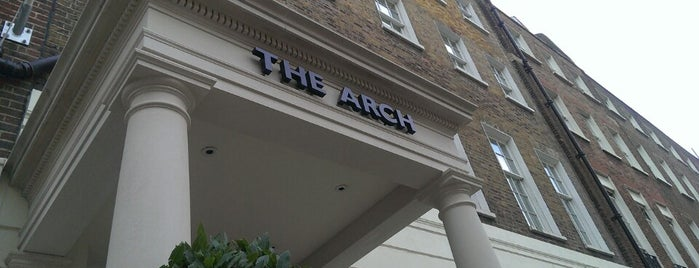 The Arch Hotel is one of London.