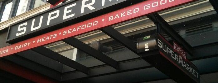 Kress IGA Supermarket is one of Lugares guardados de Fabio.