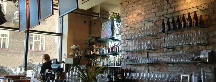 KOM-ravintola is one of Helsinki's Best Bars.