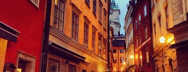 Gamla Stan is one of Stockholm City Guide.