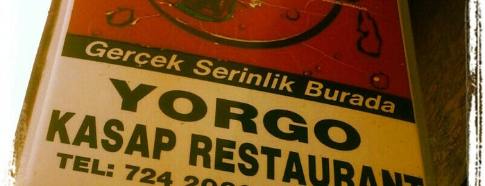 Yorgo Kasap Restaurant is one of Lieux sauvegardés par Serdar.