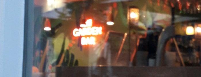 The Garden Bar is one of Akapnos.gr.