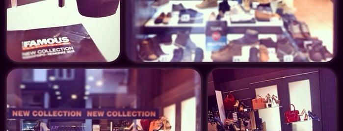 Famous Shoes Stores is one of Tempat yang Disukai Spiridoula.