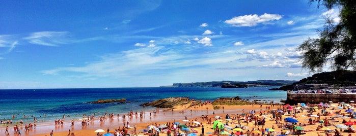 Playa de La Concha is one of Tempat yang Disukai Jose Luis.