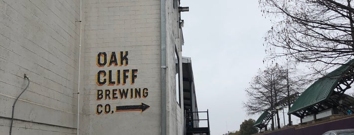 Oak Cliff Brewing is one of DFW.