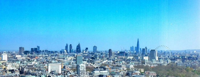 Galvin at Windows is one of The Best London Bars With A View.