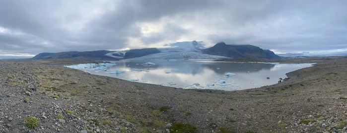Fjallsárlón Glacier Lagoon is one of Daniel's Saved Places.