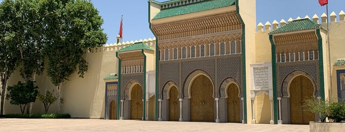 Palais Royal (Dar el-Makhzen) is one of Fes.