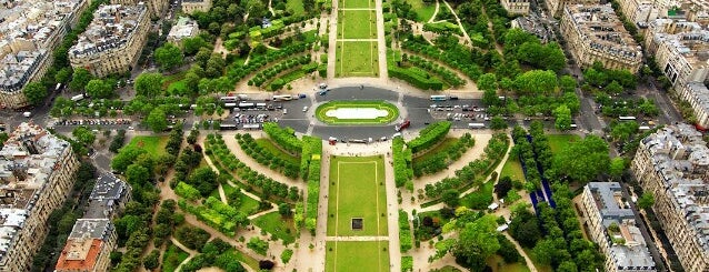 Parc du Champ de Mars is one of Paris - je t'aime.