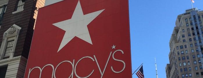 Macy's is one of NY2015.