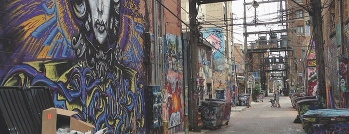 Art Alley is one of Lugares favoritos de Lars.