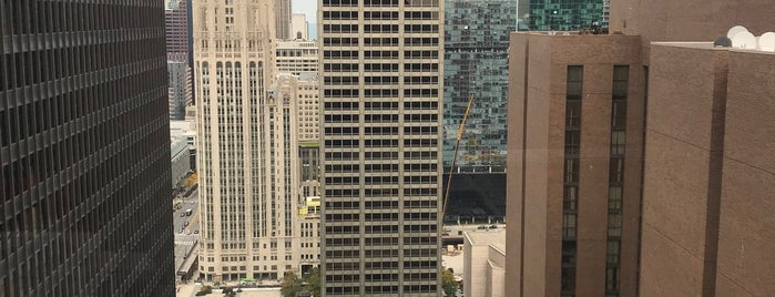 Illinois Center is one of Badges.