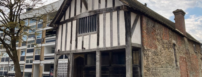 Medieval Merchant's House is one of Southampton.