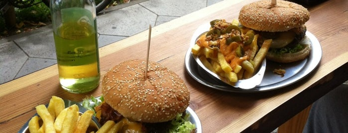 Burgerwehr is one of Berlins Best Burger.