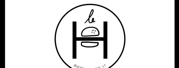 Le H is one of Mes meilleurs burgers.