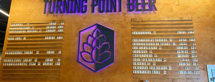 Turning Point Beer is one of Russ's Liked Places.