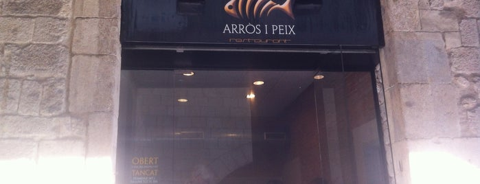 Arròs i Peix is one of Girona.