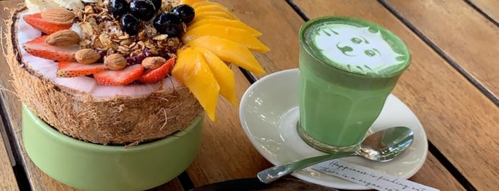 Cafe Organic is one of Bali Auszeit.