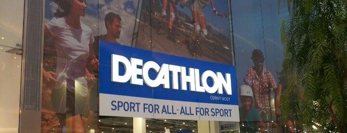 Decathlon is one of Prague.