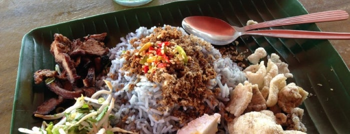 Restoran Nasi Kerabu Golok is one of Kelantan.