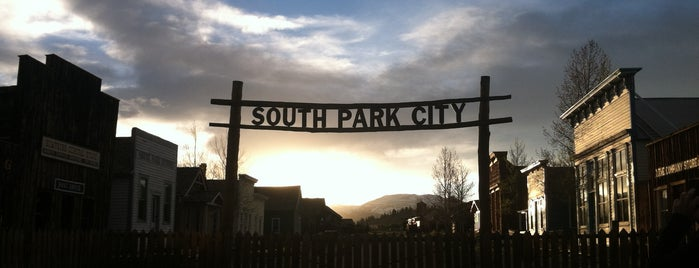 South Park City is one of Alma and Fairplay - South Park.