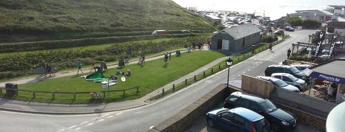 Beachcombers Apartments is one of Cornwall.