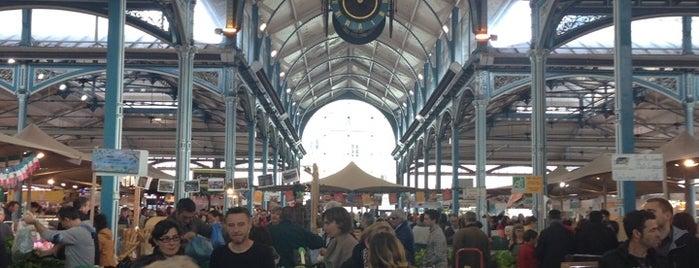 Les Halles — Marché Couvert de Dijon is one of Kristof 님이 좋아한 장소.