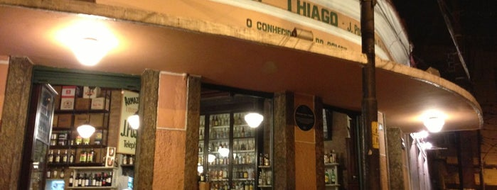Armazém São Thiago is one of 20 favorite restaurants.