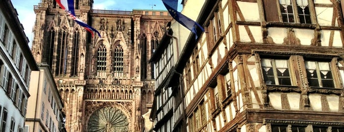 Place de la Cathédrale is one of Strasbourg 2018.