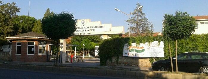 Eğitim Fakültesi Meydanı is one of Locais curtidos por Gamze.